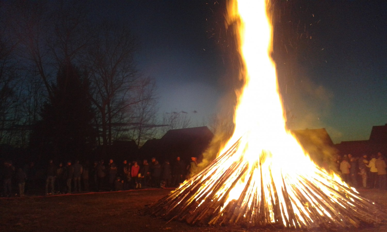 Müllrose Osterfeuer