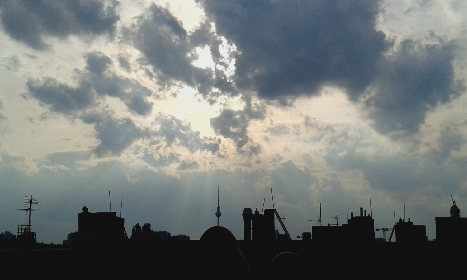 Berlin Rooftops, feat. the Fernsehturm/TV Tower