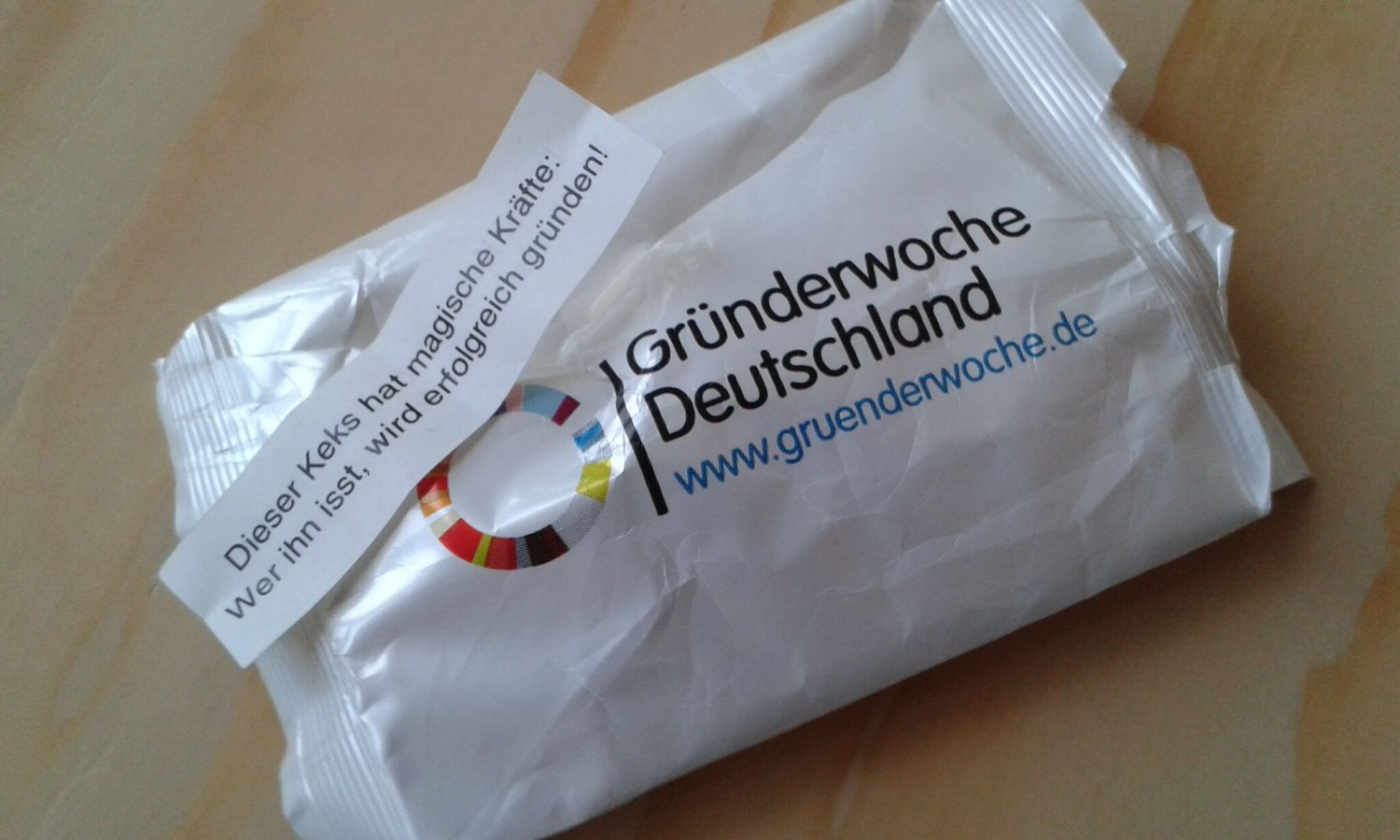 Gründerwoche - start-ups and the sweet, sweet taste of success.