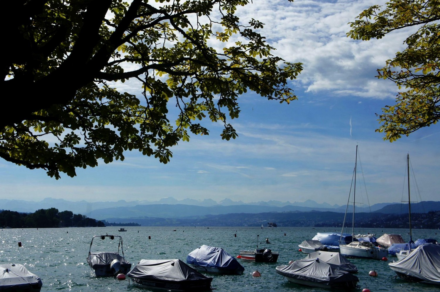 Lake Zürich, Zürich, Switzerland