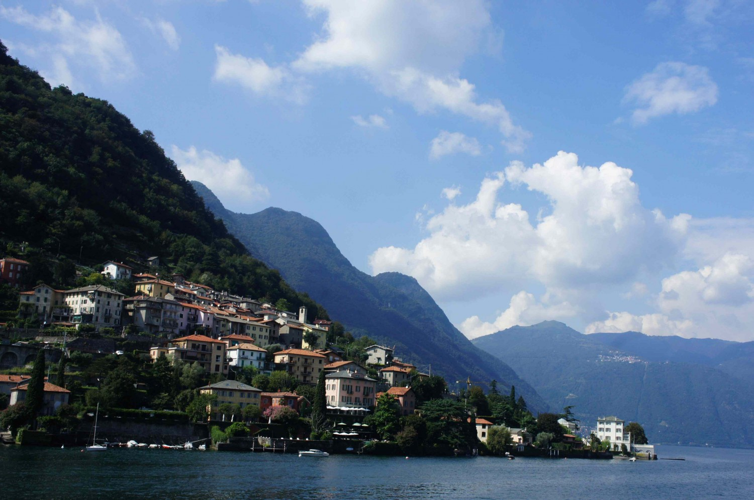 An afternoon on Lake Como as a nice work break