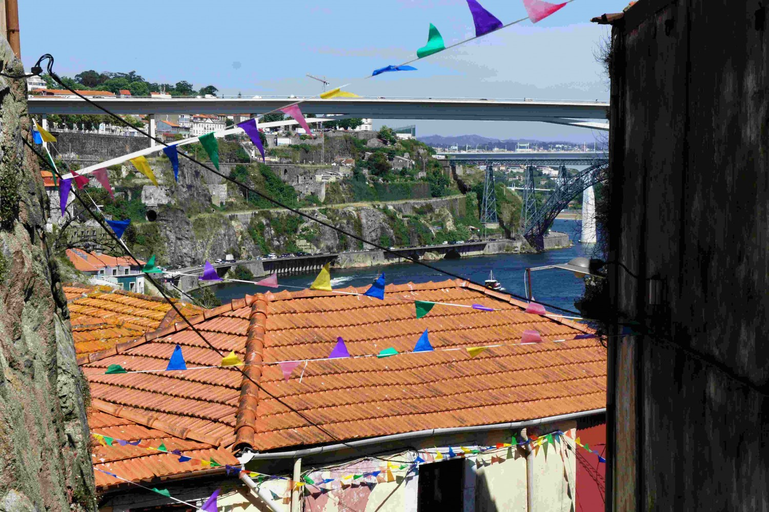 The bunting comes out for Porto's São João patron saint festivities